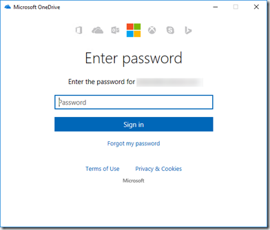how to add a one drive account to windows 10
